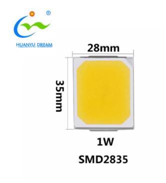 Высокое CRI Высокое напряжение 9 вольт SMD 2835 led 1 ватт