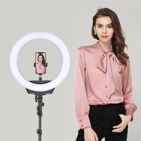 Zomei ZM-R16B Di-Color Dimmable LED SMD Photography Circle Ring Led Flash Light
