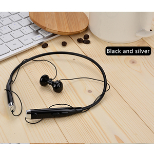 Wireless Earphone Stereo Headset 4.1 NFC Earphone Handsfree Mic Voice Fast Anti Lost Headset