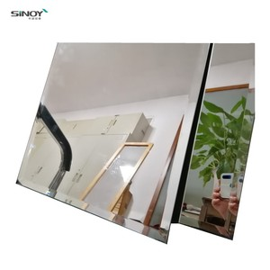 SINOY 5MM Decorative wall mirror tile/shaped bathroom mirror tiles for interior decoration