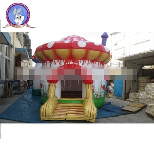 mushroom inflatable jumping castle/ inflatable bounce house