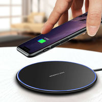 Shenzhen Factory Custom Universal Qi Wireless Portable Power Bank Mobile Phone Qi Wireless Quick Charger