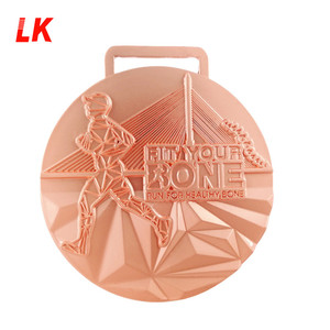 Sports Trophy Runner sport medal custom blank china cups medal