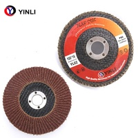 "4"" Grit 40 AO flap disc"