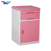 ABS hospital bedside table high quality plastic lockers medical bedside cabinet bedside lockers for hospital used