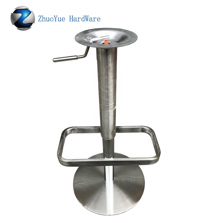 Stupendous Adjustable Height Gas Lift Swivel Bar Chair Base Stainless Steel Metal Bar Stools Base Parts Height Adjustable Table Base Buy Metal Bar Stool Base Caraccident5 Cool Chair Designs And Ideas Caraccident5Info