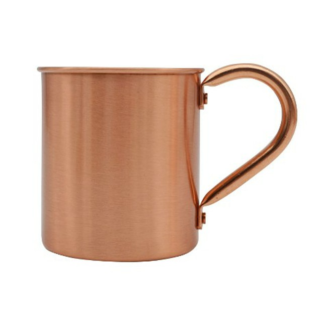 16Oz Customized 100% Pure Copper Coffee Mugs/Cup For Sale