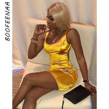 Dropshipping Satin Geel Bodycon Vrouwen Jurk Sexy Zomer Kleding <span class=keywords><strong>2019</strong></span> Party Night Club Wear Mouwloze Mini <span class=keywords><strong>Bandage</strong></span> <span class=keywords><strong>Jurken</strong></span> C66