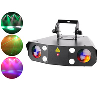 Moonflower Christmas Led+strobe+laser Cheap DJ Disco Laser Lights for sale