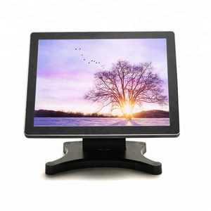 All in one pos 15 inch touch/ desktop computer with barcode reader