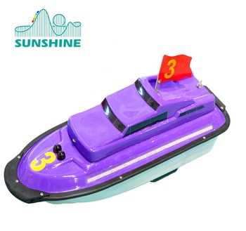 outdoor playground motor rc boat for kids