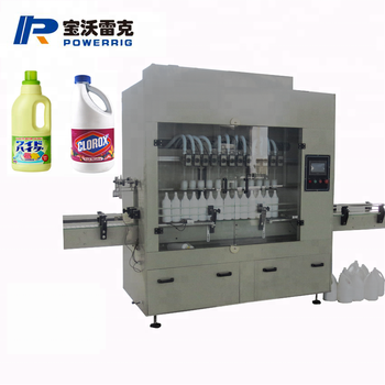 Anticorrosive Chloric acid pesticide alkali antiseptic filling machine