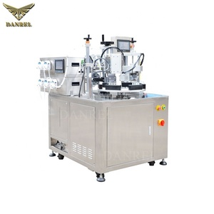 Factory Price Automatic Plastic Dropper Tube Filler 5 in 1 Row Tube Filling Machine with Cutting Date Printing DANREL DR-2015T