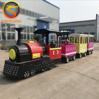 Cheap Price Shopping Mall Mini Trackless Electric Train