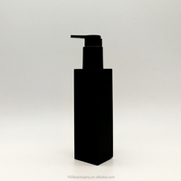 frosted square 100ml petg black spray bottle from perfume lotion packaging