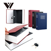 Weldon Dictionary Book Secret Hidden Security Safe Lock Cash Money Jewellery Locker Box