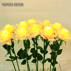 Souvenirs Artificial Led Rose Flowers Wedding Souvenirs Waterproof Twinkle Flash Artificial Glitter Led Rose Flowers