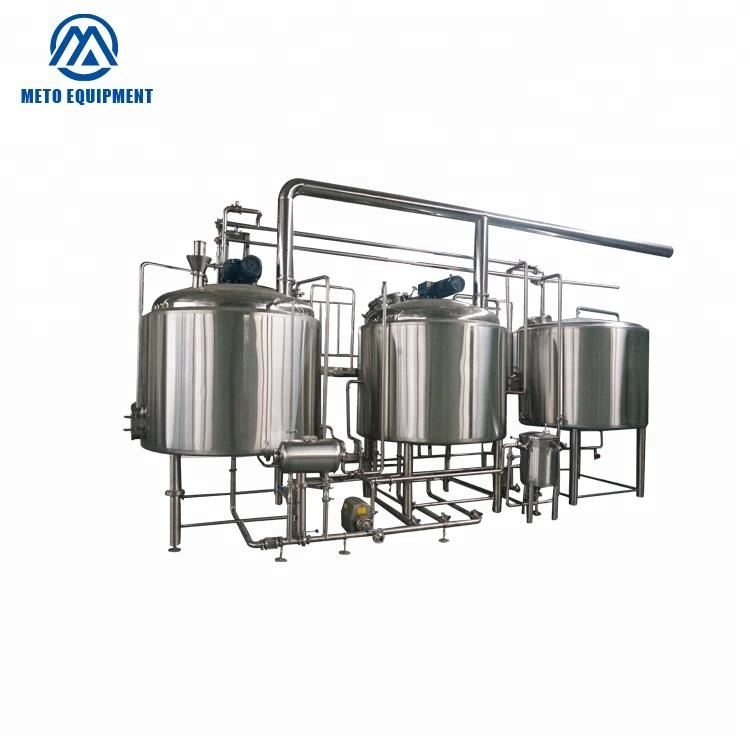 Brown ale canned beer brewing equipment 200l brewery equipment hotel