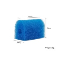 China Supplier Newest Custom 25PPI Fish Tank Garden Fish Pond Pump Biochemical Sponge Filter Media Bio Foam