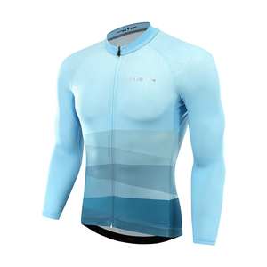 men 2019 summer quick drying bike wear clothing long sleeve cycling jersey