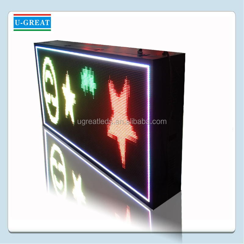 Programmeerbare LED Moving Bericht Display Board/LED Sign/Reclame LED Elektronische Informatie Screen