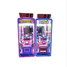 Uitdaging <span class=keywords><strong>10</strong></span> seconden transparante giftvending game machine puzzel versie coin entertainment video game
