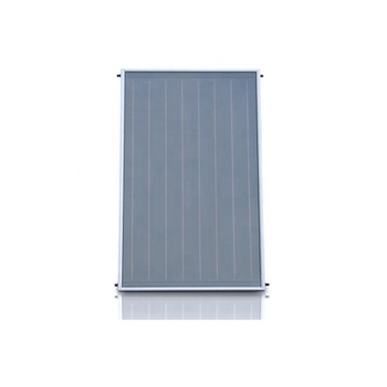 High-tech Black Chrome Flat Panel Solar Collector For Water Heating