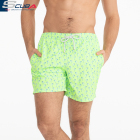 experienced factory OEM Custom design sublimation printing 100% polyester mens swimwear shorts swimming trunks