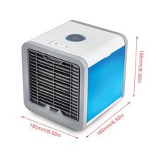แบบพกพา <span class=keywords><strong>Mini</strong></span> Air Cooler Arctic Air <span class=keywords><strong>Conditioner</strong></span> 7 สี LED Light humidifier space cooler