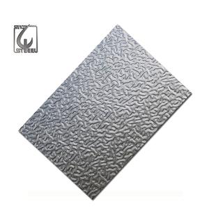 stucco embossed aluminum coil orange peel embossed aluminum sheet