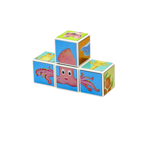 China Manufacturer Free Logo Construction / 3D Popular Funny Educational Magnetic Toys Building Blocks