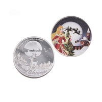 Cheap Custom Gold and Silver Commemorative Coins Challenge Coin Decoration Crafts Metal Coin