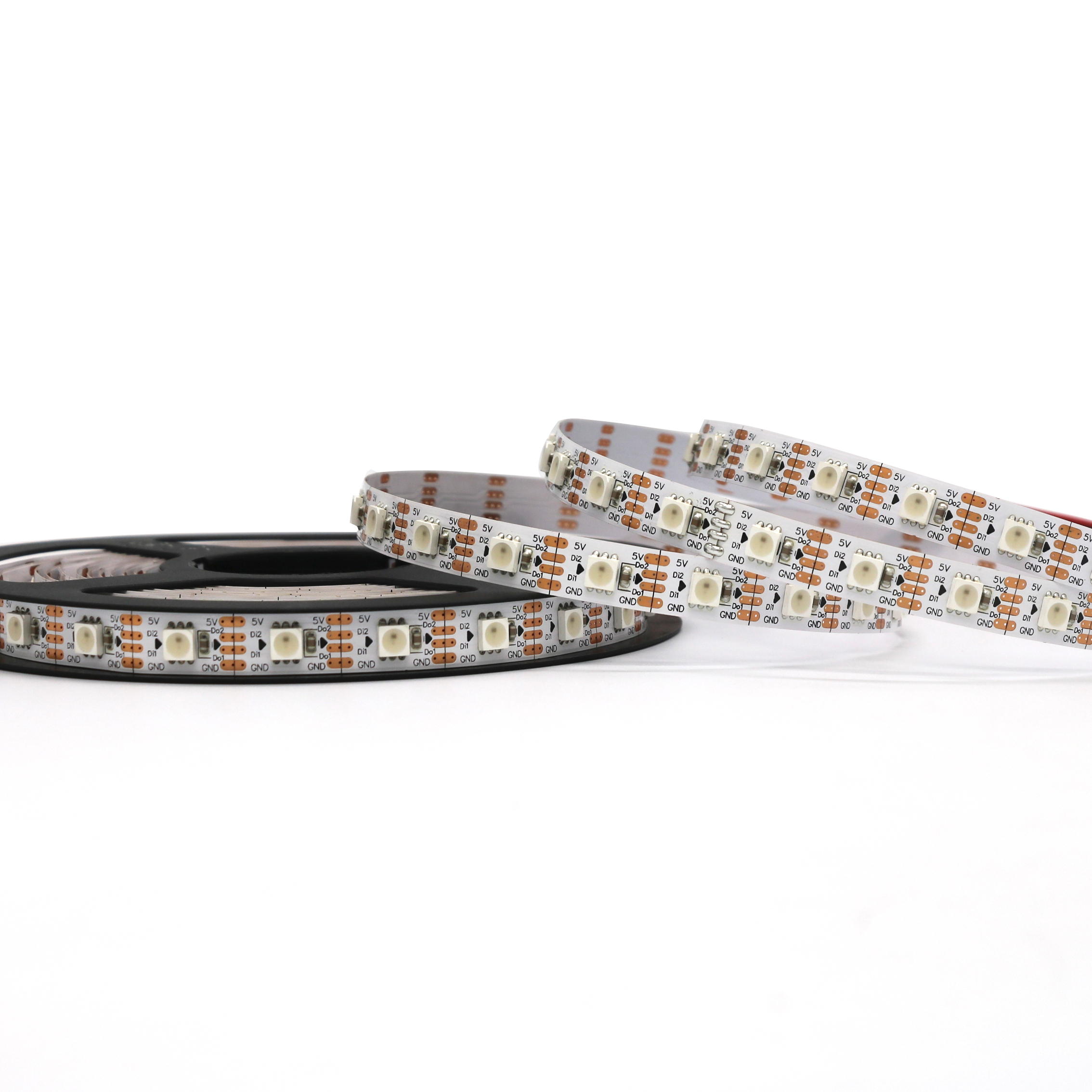 2019 new product high brightness WS2813 <strong>rgb</strong> 5050 pixel led tape light strip