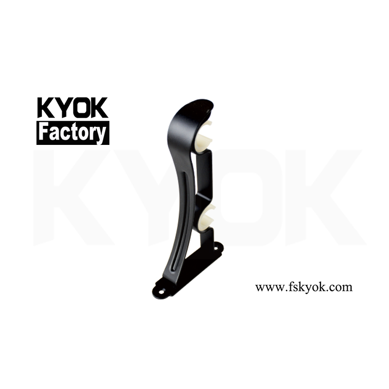 KYOK Antiqusmall Drapery Rod Ceiling Metal Brackets Acryleceiling Curtain Rods/Single Curtain Rod Bracketcarbon Steel Windows M