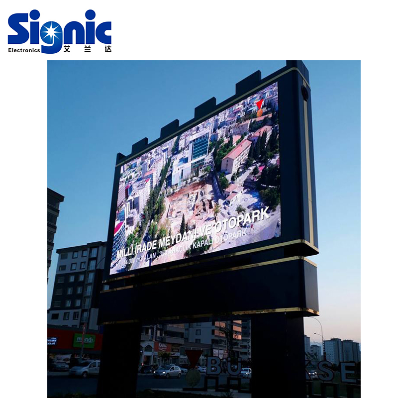 Elektrische Digital Video Werbung Vorne Service Outdoor-led-display-zeichen/LED Werbung Bildschirm Billboards