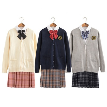 wholesale fashion style korean japanese high school uniforms