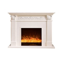 Gel fuel european decorative electric fireplace