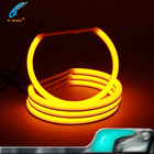Switchback dual color white&amber 131mm led angel eyes for bmw e36 e46 projector car
