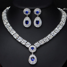 도매 지르콘 Bridal Design Fashion Jewellery 두바이 <span class=keywords><strong>금</strong></span> Necklace Wedding Jewelry Set