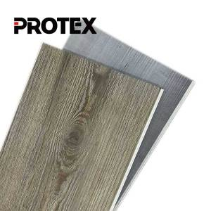 Protex fireproof vinyl flooring tiles indoor lvt wpc flooring