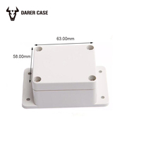 wall mount waterproof enclosure abs box