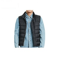 Hot Sales OEM Wholesale Mens Nylon Puffer Quilted Down Vest for Winter Puffer Vest For Women