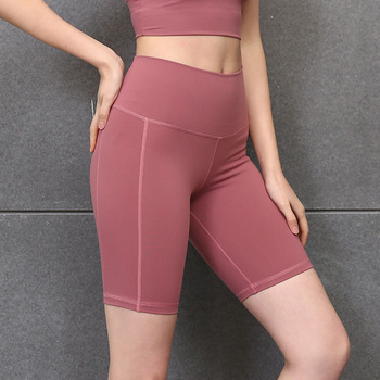 women's Yoga sports shorts high elastic Fitness hip tights women clothes 2019 summer mini femme plus size sexy