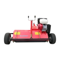 Tractor implements 13hp ATV120 forest flail mower for sale