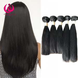Raw remy High Quality Double Drawn virgin Human Hair bundles Extensions Factory Processed Hair cuticle aligned hair double weft