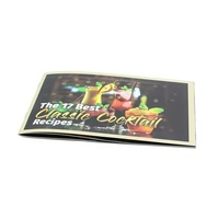 Publicity flyer printing advertisement leaflet colour instruction customized folding brochures cheap price