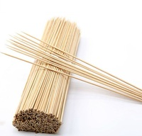 free sample round bamboo bbq skewer and stick