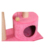 GMT06-1177 Pink Pet Supplies Wholesale Small Sisal Cat Climbing Frame Cat Toy