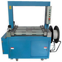 Automatic most popular low price high speed with PP or PET belt banding strapping machine for packaging