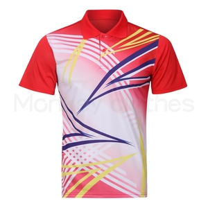 Sublimation your own design office uniform polo golf shirt